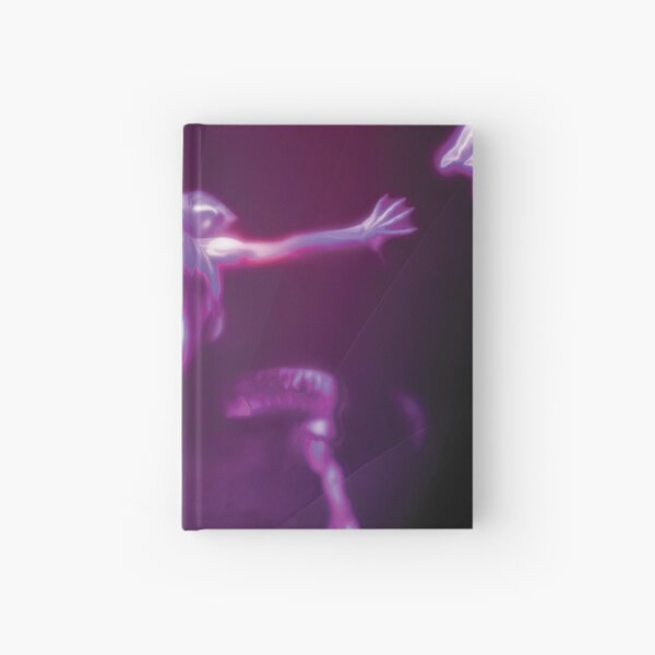 Trapped In Motion Fantasy Artwork Hardcover Journal