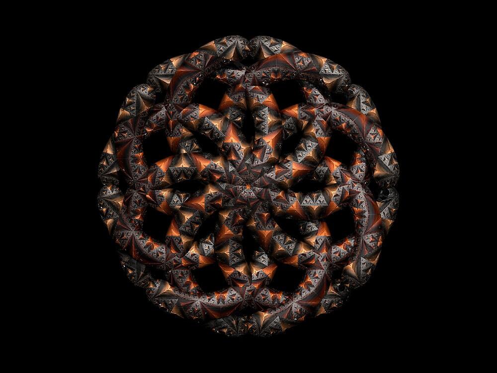 Sierpinski Knot by Hugh Fathers