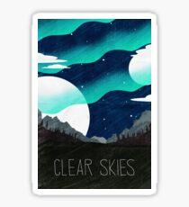 Tamriel Shout - Clear Skies Sticker
