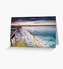 Merewether Ocean Baths Greeting Card