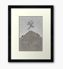 Tamriel Shout - Unrelenting Force Framed Print