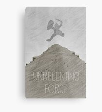 Tamriel Shout - Unrelenting Force Metal Print