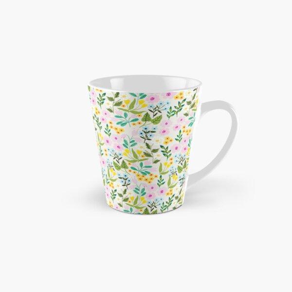 Floral Pattern Tall Mug