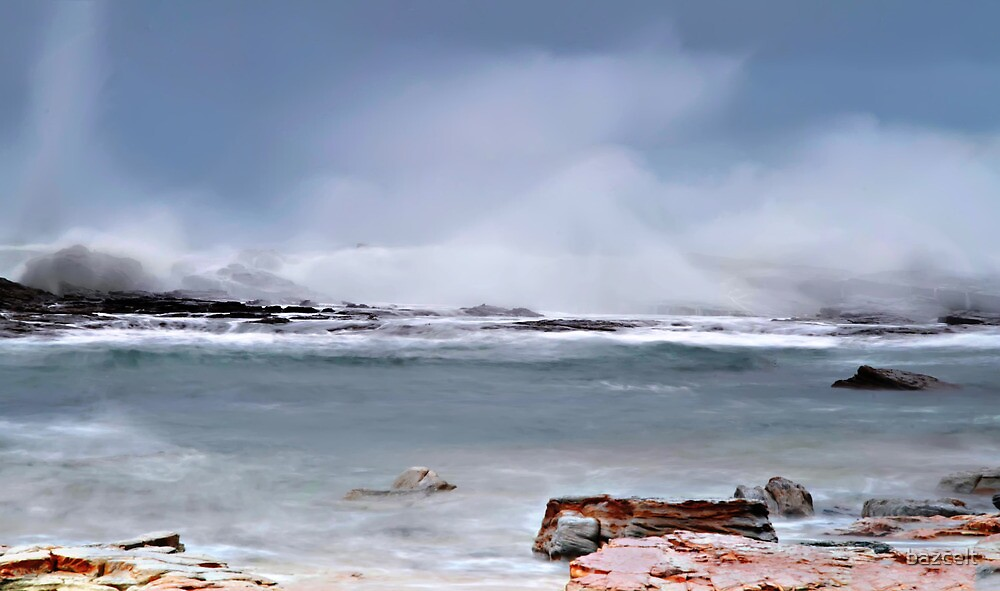 Stormy Waters by bazcelt