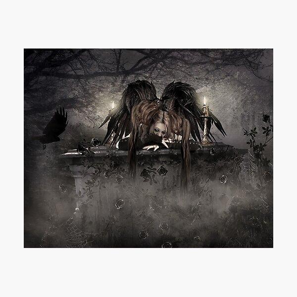 Gothic Angel Photographic Print