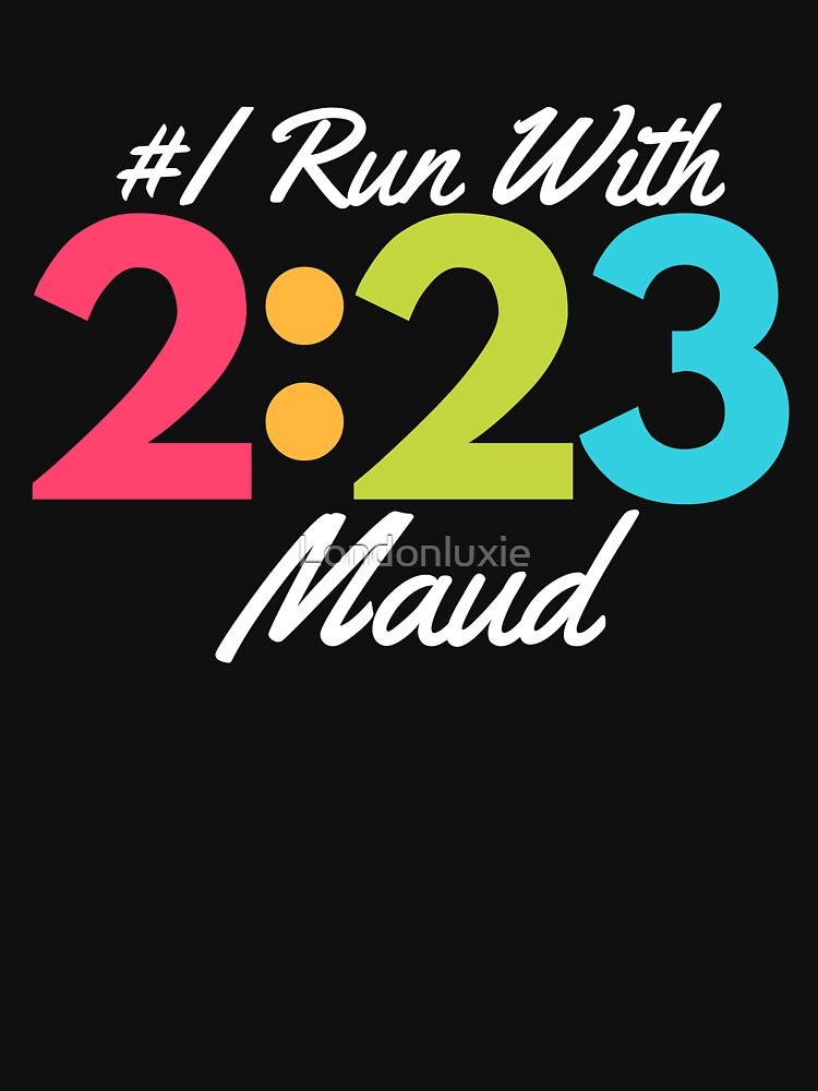 Justice for Ahmaud, 2:23, I Run With Maud,  I Am A Runner, In His Memory, I Jog for Maud by Londonluxie