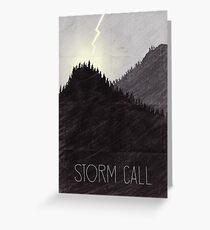 Tamriel Shout - Storm Call Greeting Card