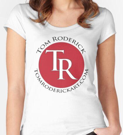 tomroderickart.com Women's Fitted Scoop T-Shirt