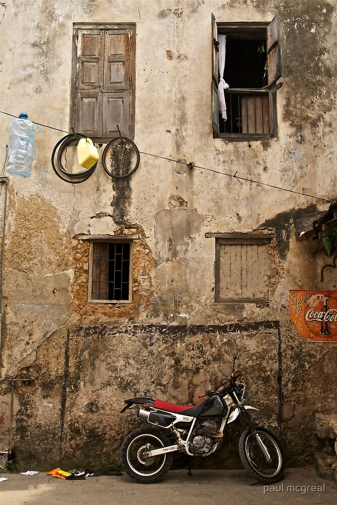 stone town, street by paul mcgreal