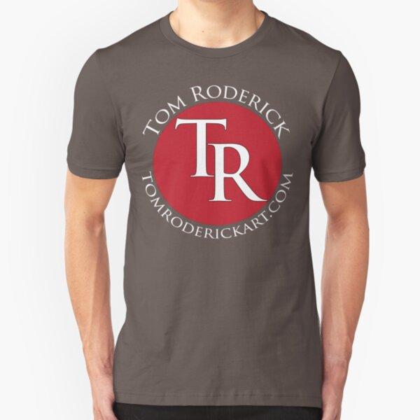 tomroderickart.com Slim Fit T-Shirt