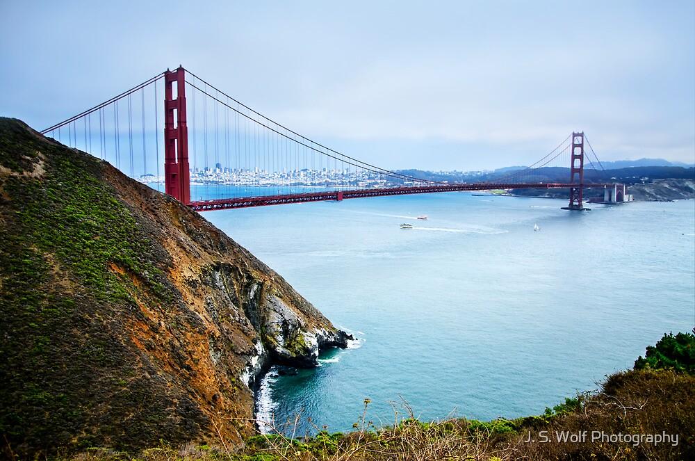 Golden Gate Cliffs by jswolfphoto