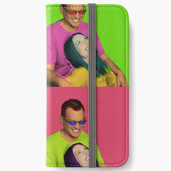 Custom Andy Warhol's style portrait iPhone Wallet