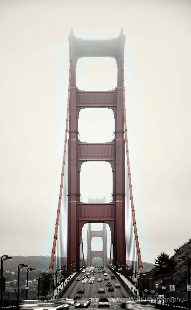 Golden Gate Front by jswolfphoto