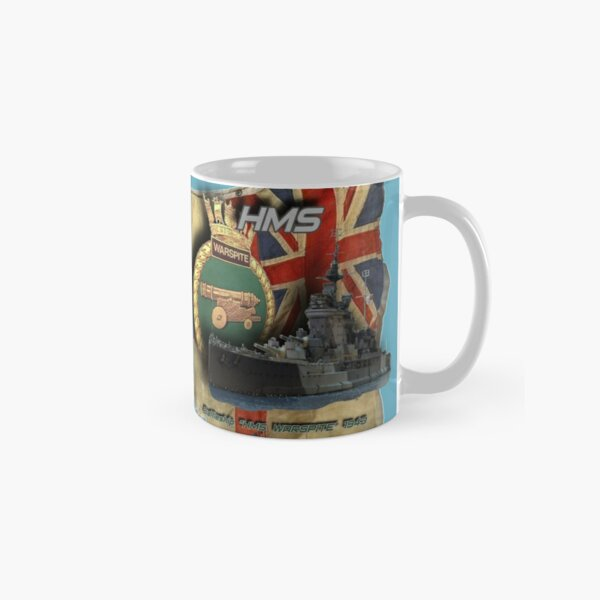 as a gift idea for everyone from naval history supporters and of course for all online captains. Classic Mug