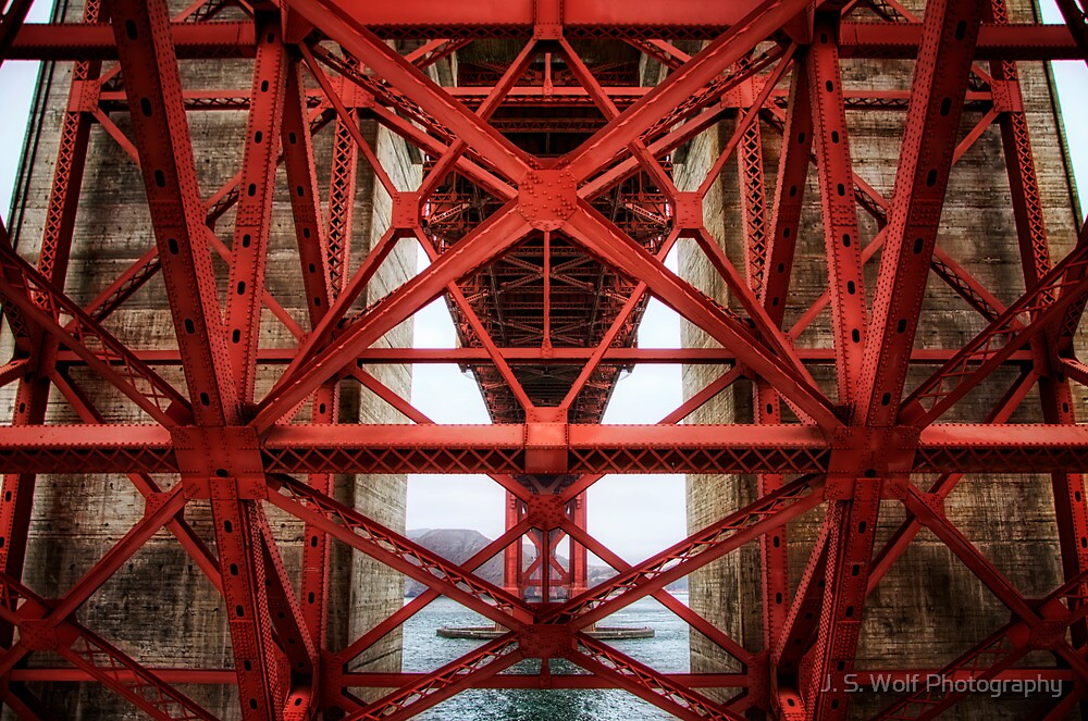 Golden Gate Belly by jswolfphoto