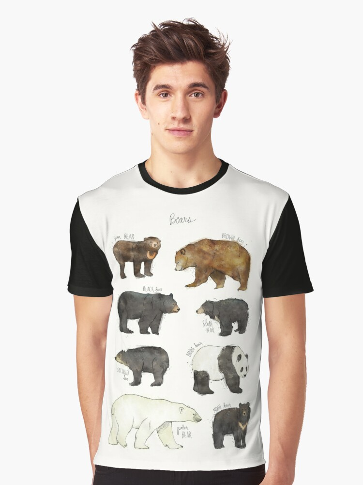 Bears Graphic T-Shirt Front