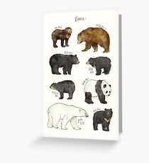 Bears Greeting Card