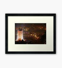The Park and Tower. Sat. 3am Framed Print