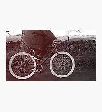 Fixie Bike Photographic Print