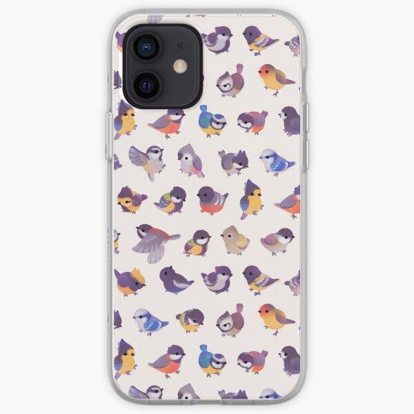 Little bird (Paridae) iPhone Soft Case