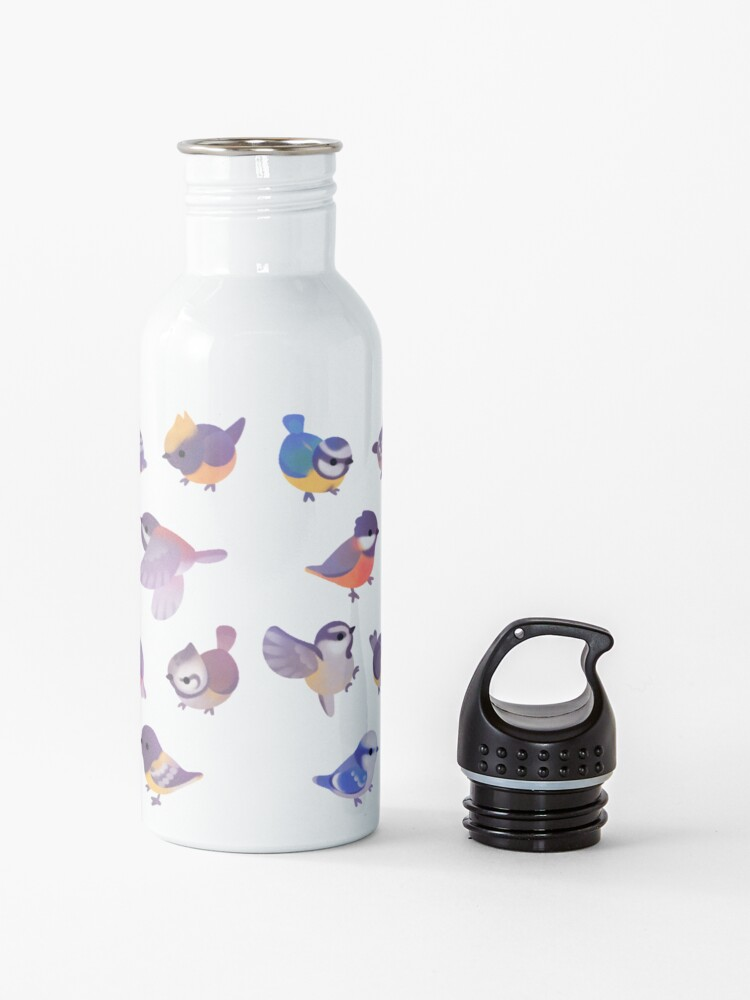 Alternate view of Little bird (Paridae) Water Bottle