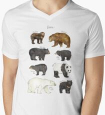 Bears Men's V-Neck T-Shirt