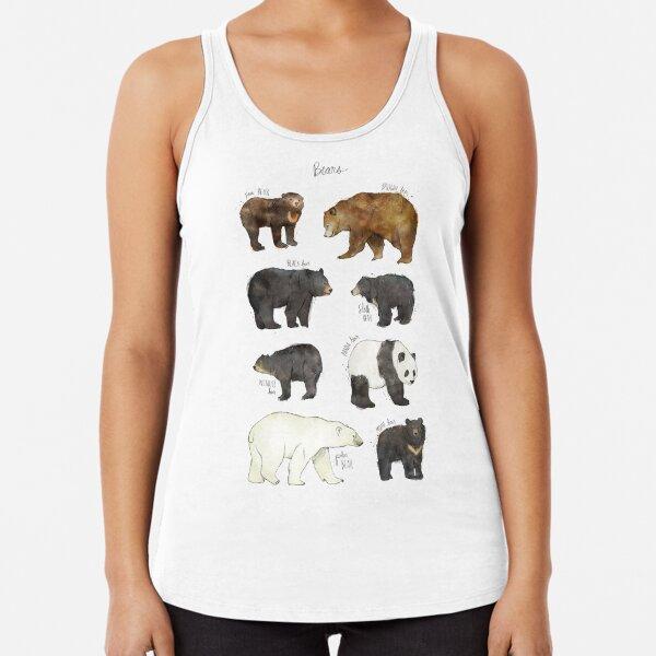 Bears Racerback Tank Top