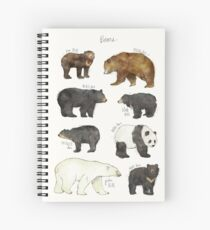 Bears Spiral Notebook