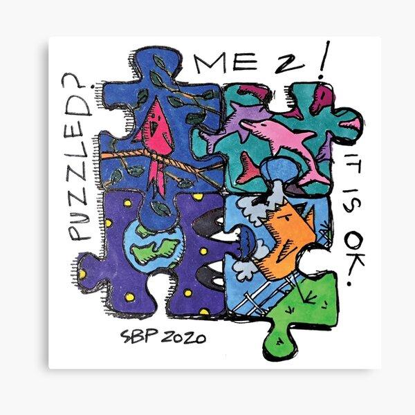 PUZZLED SBP ART Impression sur toile