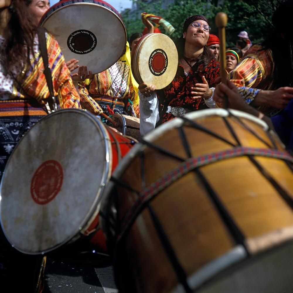 Karneval der Kulturen, Berlin 2004 by Michel Meijer