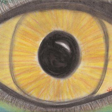 Golden Eye by VictoriaGarden