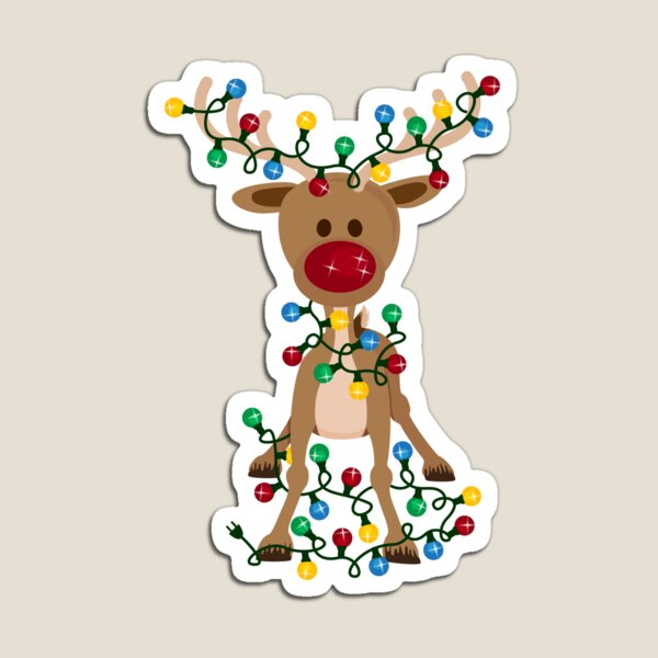 Adorable Reindeer Magnet