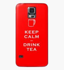 Keep Calm and Drink Tea Case/Skin for Samsung Galaxy