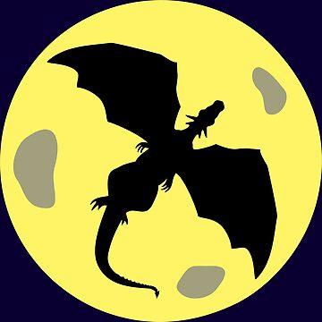 Shadow of a dragon by catsandstars