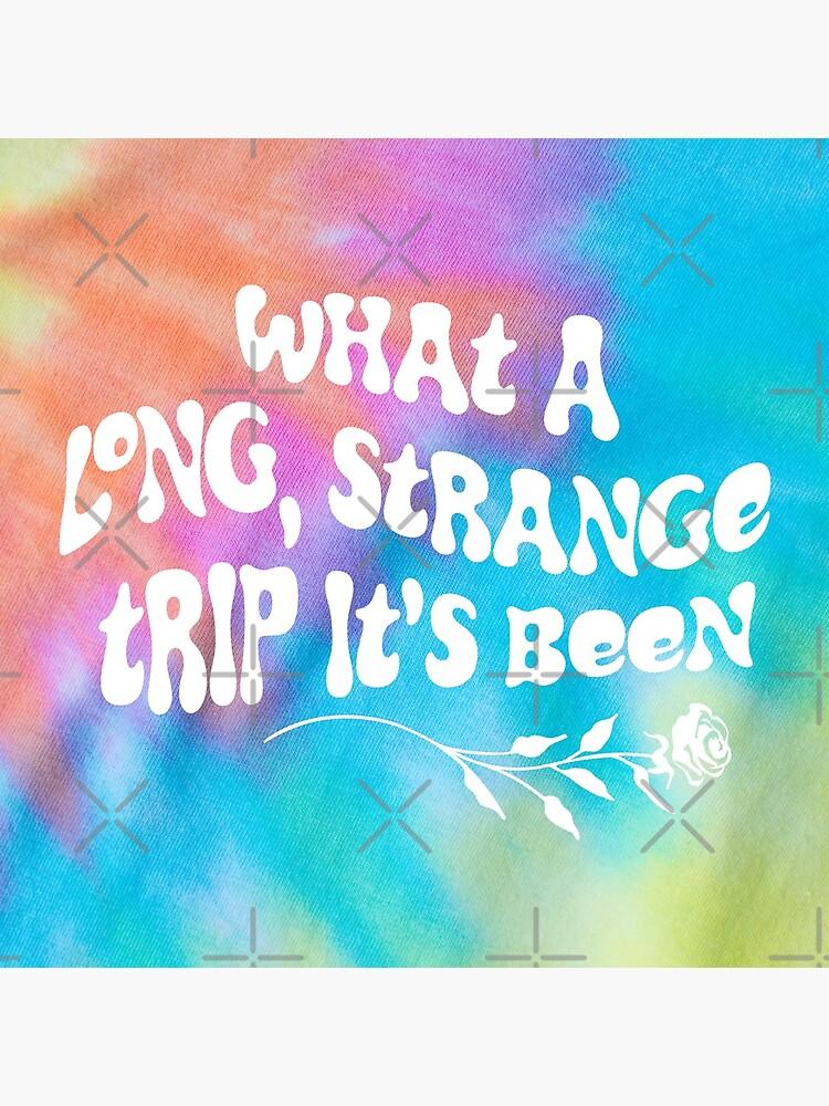 Tie Dye -  What a Long Strange Trip It's Been by DesignCats