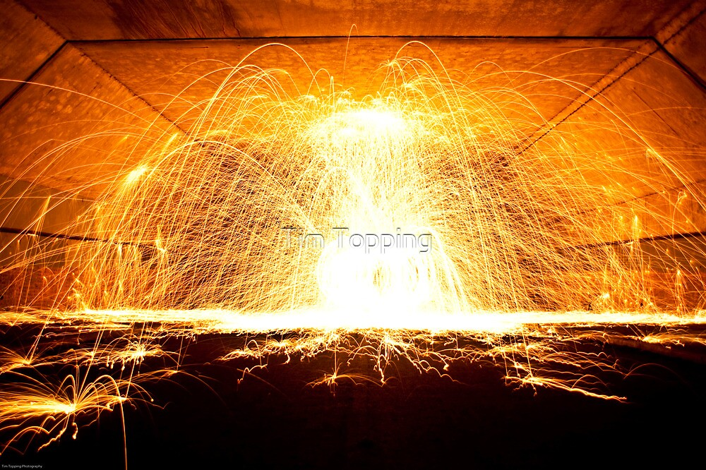 Wirewool Spinning by Tim Topping