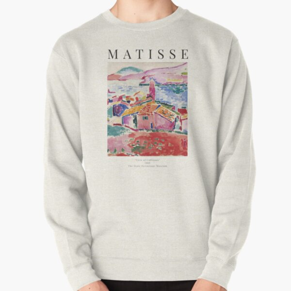 Henri Matisse - View of Collioure - Exhibition Poster Pullover Sweatshirt