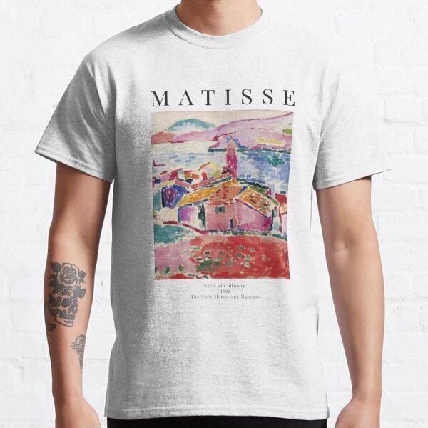 Henri Matisse - Vue de Collioure - Affiche d'exposition T-shirt classique