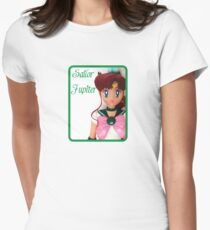 I am Sailor Jupiter Womens Fitted T-Shirt