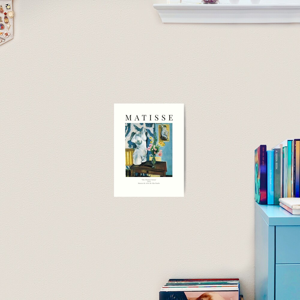Henri Matisse - The Plaster Torso - Exhibition Poster Art Print