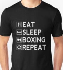 Eat Sleep Boxing Repeat Unisex T-Shirt