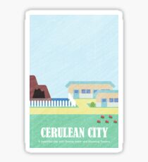 Kanto Towns - Cerulean City Sticker