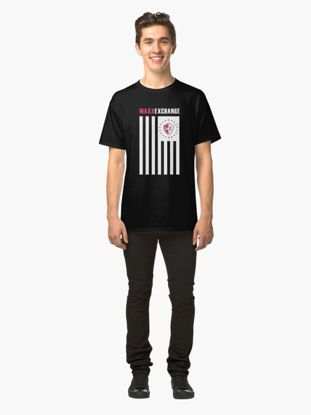 Alternate view of Maxx Exchange, Flag of Honor, American Pride. Classic T-Shirt