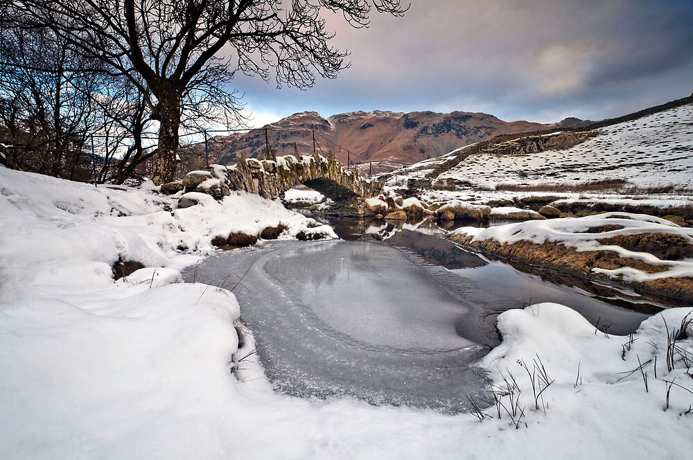 slater bridge in winter by paul mcgreevy