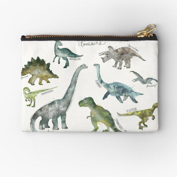 Dinosaurs Zipper Pouch