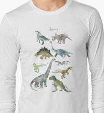 Dinosaures T-shirt manches longues