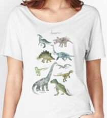 Dinosaurs Relaxed Fit T-Shirt