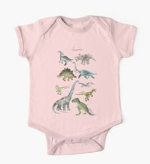 Dinosaurs One Piece - Short Sleeve