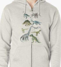 Dinosaurs Zipped Hoodie