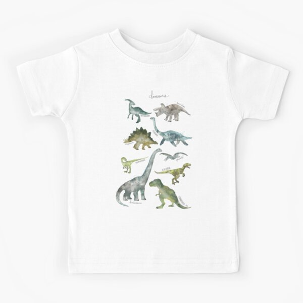 Dinosaurs Kids T-Shirt